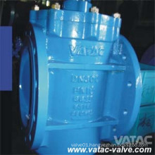 Cast Steel Flanged Ends Eccentric Plug Valve