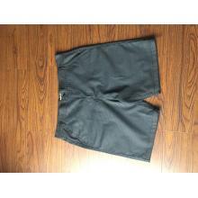 Gestreifte elastische Herren-Shorts aus 100% Baumwolle