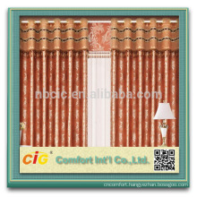 2014 Fashion Curtain Design Jacquard Curtain/Lace Curtain