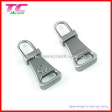 Custom Metal Zipper Pull para Bagagem