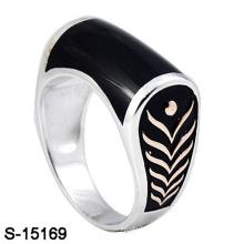 Anillo de plata esterlina 925 de la nueva joyería de la manera del diseño