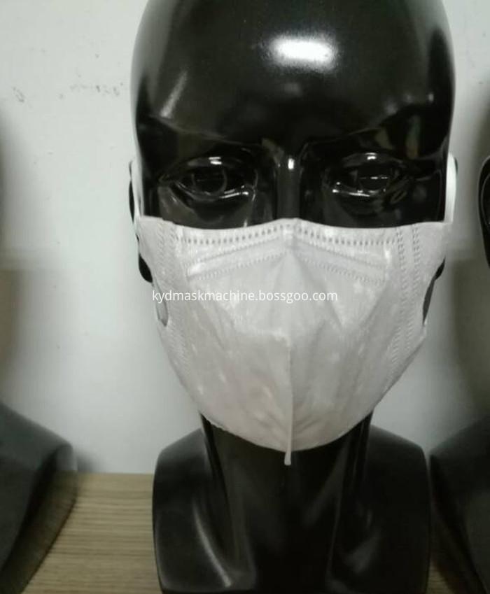 n95 folding mask machine