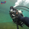 New snorkel mask with gopro mount for snorkeling