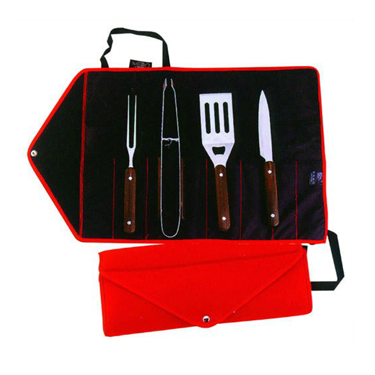 bbq grill tools set in bag