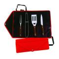 4 peças mini utensílios para churrasco utensílios de cozinha