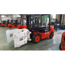 China for 4 Wheels Electric Forklift Forklift Attachment Paper Roll Clamp export to Serbia Suppliers