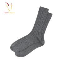 Wholesale Cable 100% Cashmere Socks Unisex Cashmere Socks Women