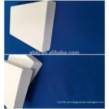 Alfombra de fibra de cerámica de aislamiento bio-soluble de silicato de alúmina / (Al2O3 72%) estera de fibra
