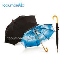 """23 """"8k Himmel Regenschirm Himmel blau und weiß Wolke Regenschirm"""