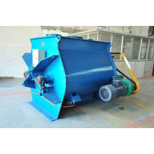 WZ zero-gravity double-axle paddle type mixer, SS solid liquid mixing equipment, horizontal heavy duty stand mixer