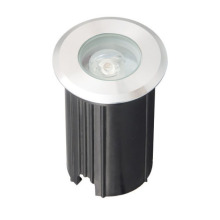 Cool White Outdoor 3W LED Inground Light