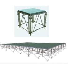etapa portátil atractiva del suelo de la cabina de exposición de la plataforma de la etapa para el concierto