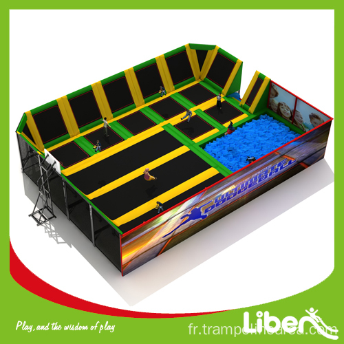 trampolines d 39 int rieur de gymnastique vendre. Black Bedroom Furniture Sets. Home Design Ideas