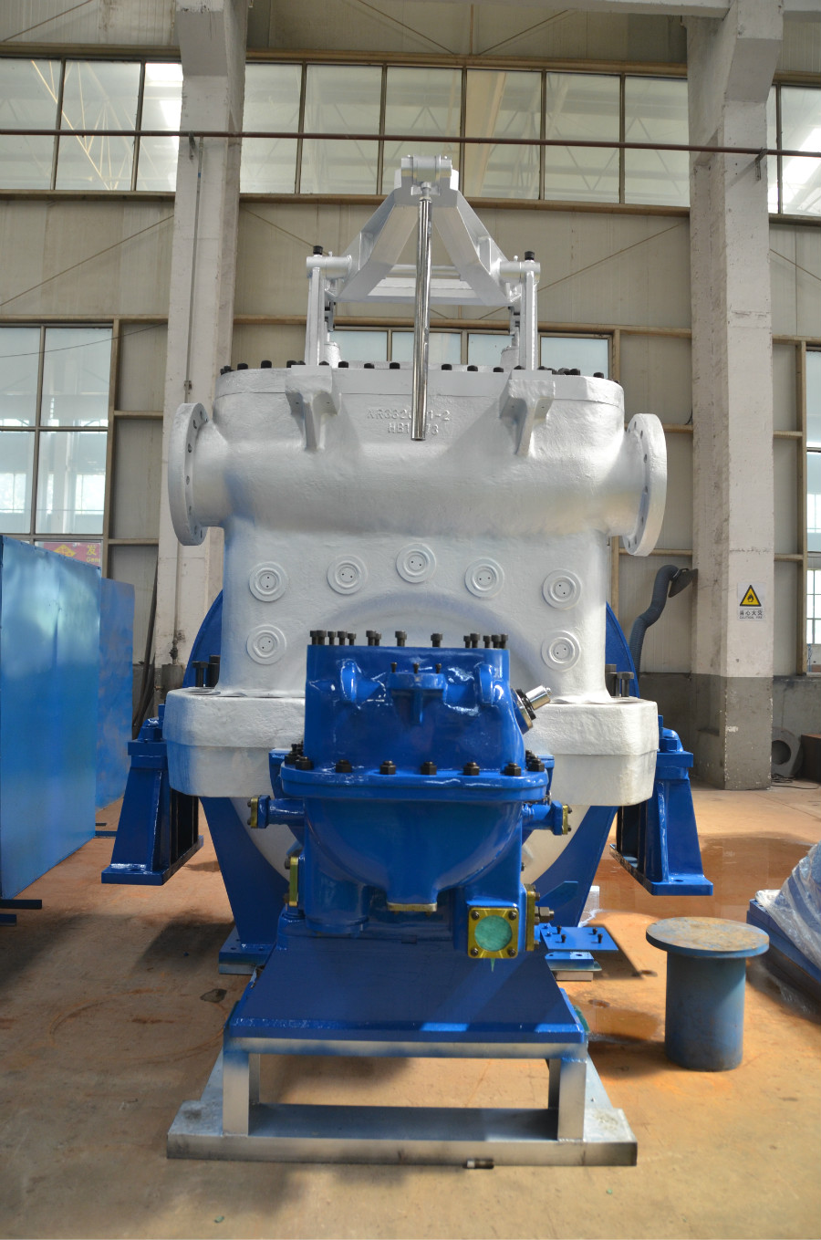 Condensing Steam Turbine 21