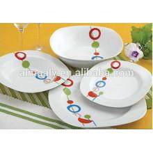 cheap price ceramic dinner sets with OEM design