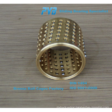 Ball Retainer Bearing,Brass Ball Cages,FZ-2575 Guide Post Guide Ball Cage China Factory