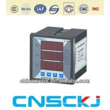 SCD914Z-3X4-3U square80*80 digital three phase AC voltage meter