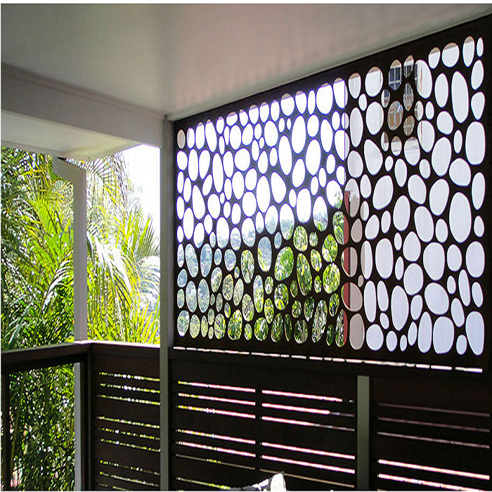 Laser Cut Metal Curtain Wall
