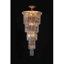 Hotel Lobby Hanging Chandelier Crystal (90305 L13)