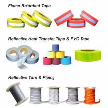 DM Reflective Piping for Garment