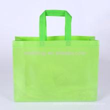 La bolsa de asas no tejida ultrasónica al por mayor reutilizable de encargo para hacer compras, promoción