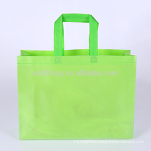 Reusable custom wholesale ultrasonic non woven tote bag for shopping, promotion