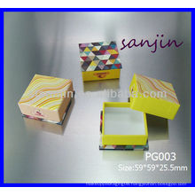 2014 new product square cosmetic paper can