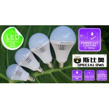 5W 7W 9W 12W lâmpada LED de emergência recarregável com bateria de reserva E27 B22