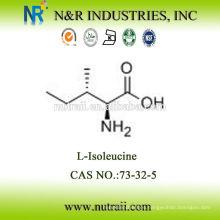 Confiable aminoácido proveedor L-Isoleucine 73-32-5
