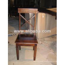 Cadeira de jantar em madeira de sheesham