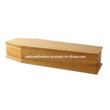Caixão de madeira & caixão para França (UE-05)