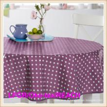 Nappe de table en vinyle PEVA prêt à l'emploi / toile cirée