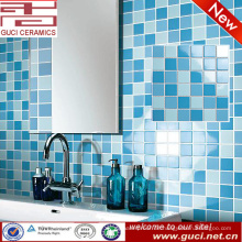 China-Lieferant gemischte Küche Wand Keramik Mosaikfliesen Design