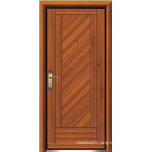 Turkish Style Steel Wooden Armored Door (LTK-D304)