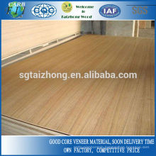Poplar Core 4MM Teak Veneer Plywood