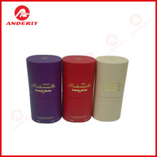 Hot Stamping Paper Tube Rigid Perfume Packaging