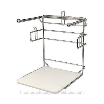 Helfen Sie Ihnen zu verkaufen und Ratgeber für Verpackung Chormed Retail Store Metall Draht Zähler Display Rack für Taschen