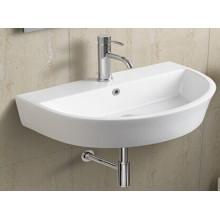 Bassin de salle de bains en céramique suspendu (076)