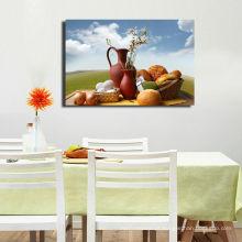 Pintura a óleo da comida da lona da arte feita sob encomenda da imagem para a decoração Home
