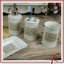 S / 4 conjunto de baño de porcelana