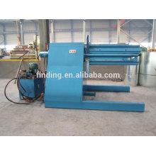 desbobinador hidráulico bobina de aço na telha que faz a máquina/desbobinador para linha de corte