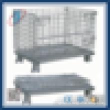 Складная проволочная сетка Штабелируемый контейнер для хранения контейнеров