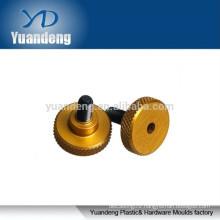 M8 brass knurled thumb screws