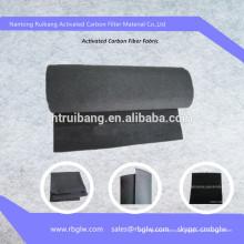manufatura em primeira mão de carvão ativado ativado da fibra do carvão vegetal feltro de ACF