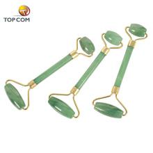 Wholesale facial massager nephrite jade stone roller