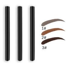 3 Colors Wholesale Eyebrow Pomade Private Label Waterproof Long Lasting Natural Liquid Eyebrow Pen