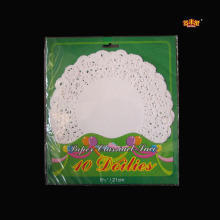 Hot Selling Multiple Color Round Paper Doily