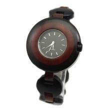 Reloj de pulsera de alta calidad Hlw101 OEM para hombre y mujer Reloj de pulsera de bambú para mujer