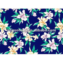 T/C 65/35 woven printed fabrics for making garments