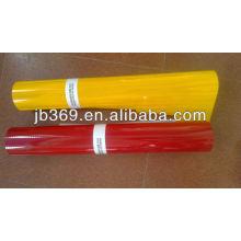 Película reflexiva del grado de alta intensidad del color rojo / amarillo / blanco de 3M / hoja reflexiva